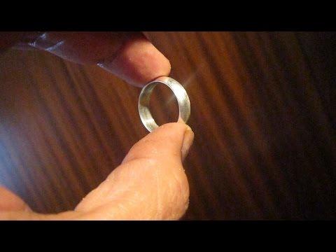 Limpiar anillos de plata bicarbonato