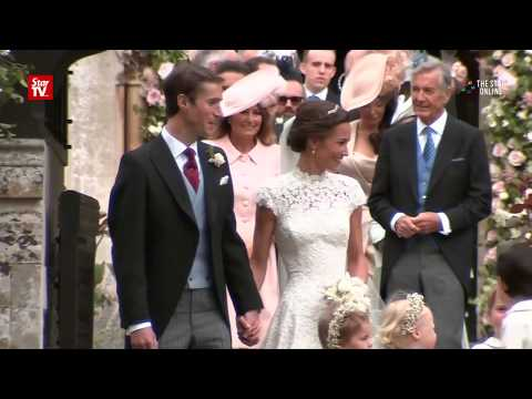Pippa Middleton ties the knot with financier