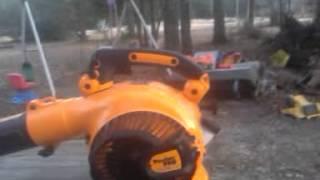 Poulan pro bvm210vs gas leafblower