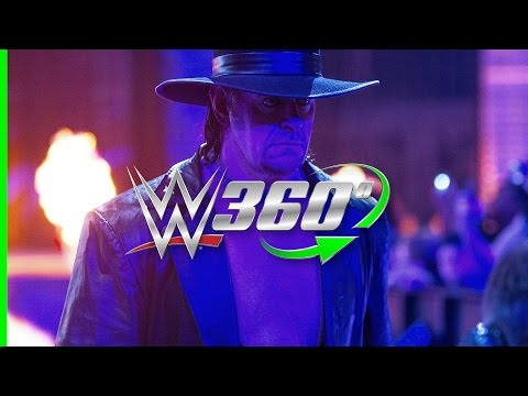 See The Undertaker's entrance like never before in this all NEW 360° video!
