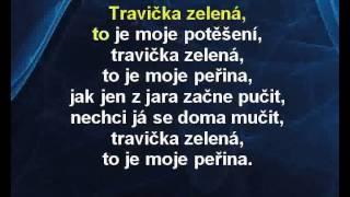 Karaoke klip Travička zelená - Dětské písničky