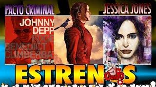 #ElViajeDeMisSueños HungerGames, JessicaJones, PactoCriminal y más
