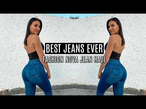 THE ULTIMATE JEANS FOR FIT CHICKS/ BIG BOOTIES *fashion nova favs, duh*