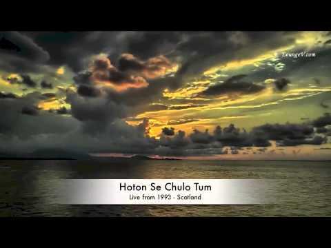 Jagjit Singh Live - Hoton Se Chulo Tum - Scotland 1993