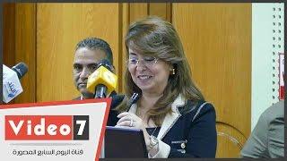 بالفيديو..غادة والى : مصر محتاجة للتطوع بالجهد والعلم أكثر من التبرعات