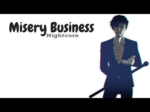 MISERY BUSINESS  Nightcore