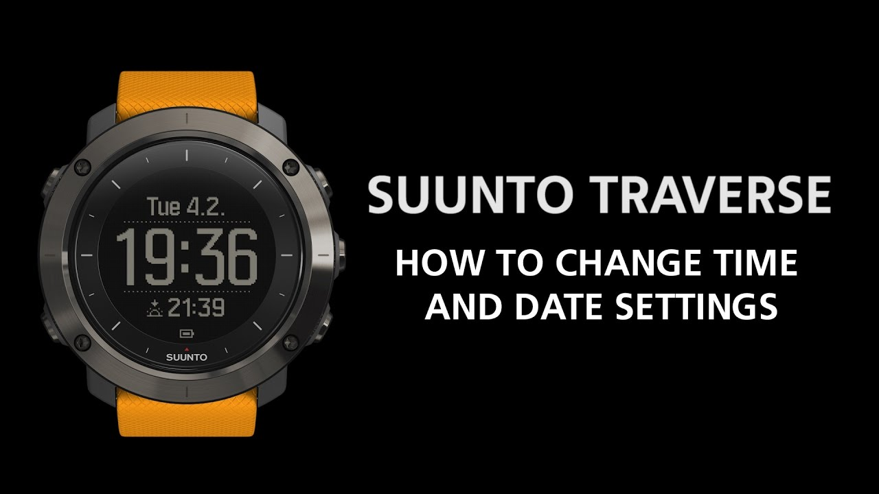 How to change the date on a watch