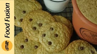 The Best Chocolate Chip Cookies recipe  A 6 year old tells you how to make it - Food Fusion