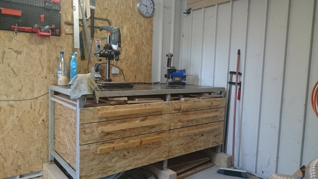 youtube workbench drawers drawer watch