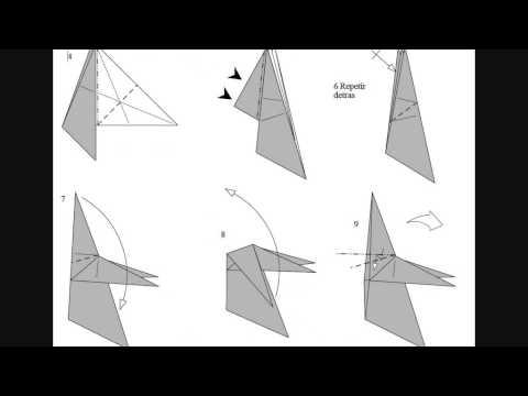 Origami Ghost Fantasma Papiroflexia