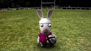 Rabbids can't play rugby [UK]