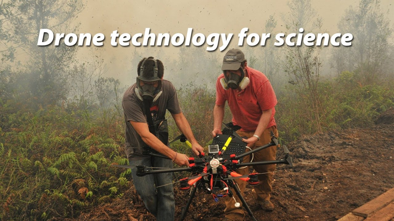 The drone takes off in landscape conservation - Landscape News