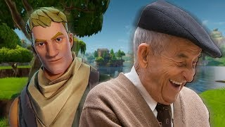 Dr. Cromwell Plays FORTNITE! | Old British Voice Trolling!