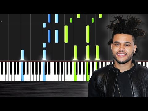 the weeknd the hills piano cover tutorial by plutax. Black Bedroom Furniture Sets. Home Design Ideas