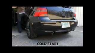 2003 VW GTI 1.8T Stage 3 Cold Start