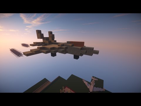 Minecraft How To Build Military Jet F 22 Raptor Youtube