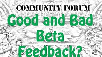 WoW Community Forum: Good and Bad Legion Beta Feedback for Blizzard