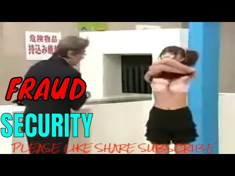 Funny Security Prank in Airport BAKCHOD Security Guard Prank full body Checking Of Girl boobs press thumbnail