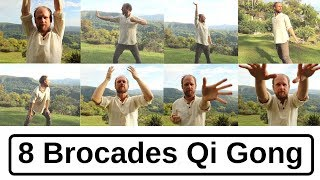 8 Brocades Qi Gong – For Health and Healing