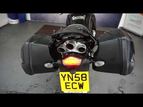 MOTORBIKES 4 ALL REVIEW TRIUMPH SPRINT ST 1050 BLACK FOR SALE
