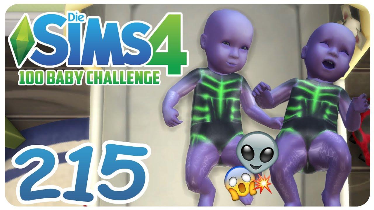 Die Sims 4 100 Baby Challenge 215 Alien Zwillinge Bekommen