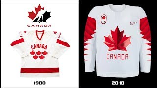 2018 Winter Olympics Ice Hockey Miracle   Updated February 2018 - New Jerseys for Russia and Korea