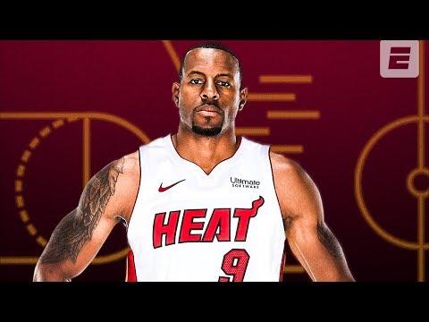 Grizzlies-Trade-Andre-Iguodala-to-Heat-2019-20-NBA-Season