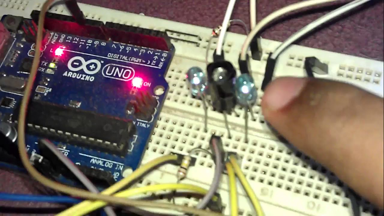 How To Make Simple Ir Proximity Sensor With Arduino Diy Distance Looking 4 Circuit For Obstacle Detection