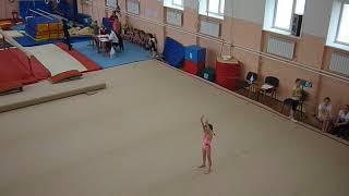 Спортивная гимнастика.Вольная программа. 2 юношеский разряд