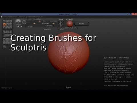 How To Create Brushes For Sculptris