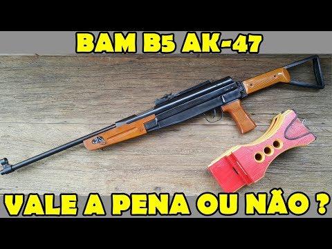 Assista antes de comprar carabina BAM B5 AK-47 Cap 3