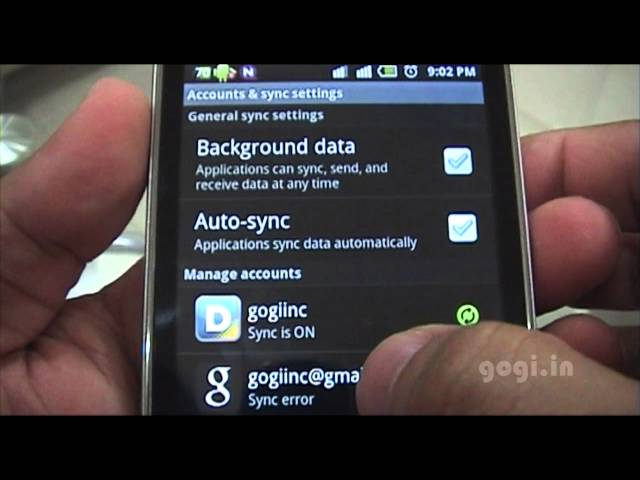 delete google account android jelly bean