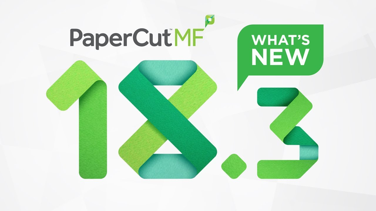 PaperCut MF 18 3