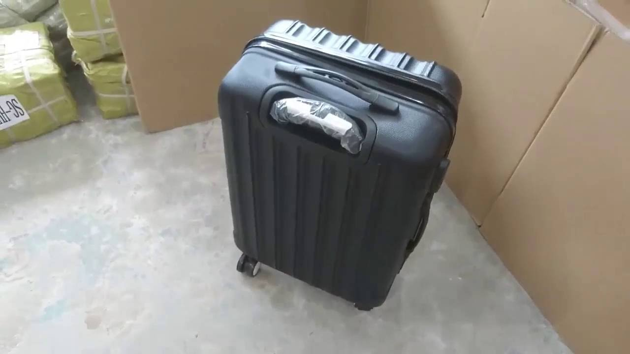 9a0cf41078 20 24 28 Inch Hardcover Luggage Demo - YouTube