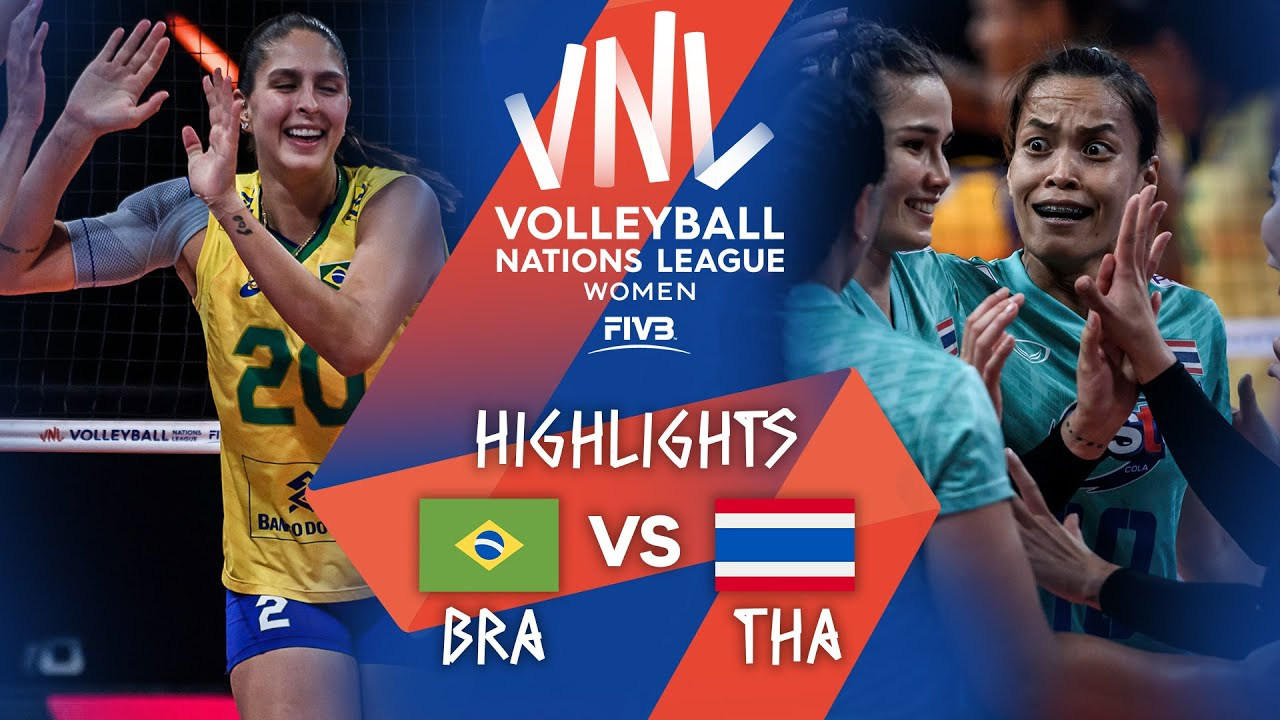 Download BRA vs. THA - Highlights Week 4   Women's VNL 2021