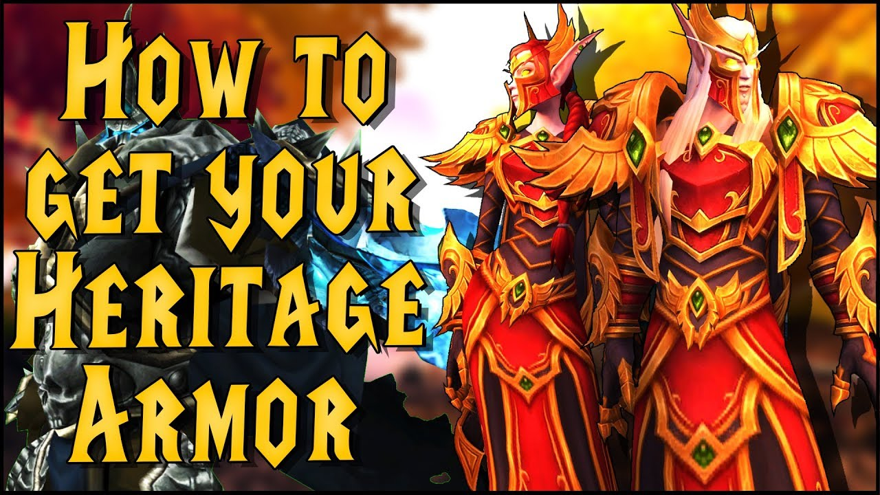 How to Get Your Own Blood Elf Heritage Armor - Guide & In-Game Look | 8 1  Battle for Azeroth
