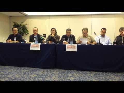 Rueda de Prensa Rebeldes Mayoría Democrática de CCOO Canarias.18/02/15