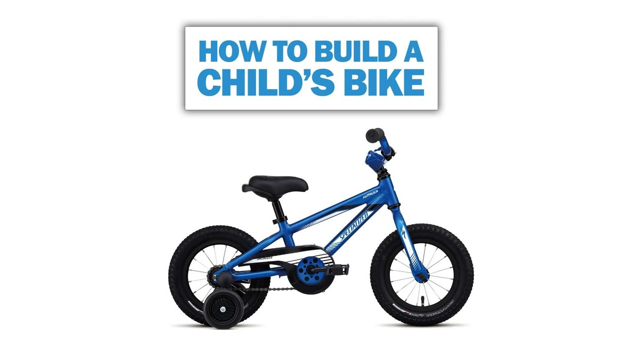1aa45602ab6 How to assemble a child's bike - YouTube