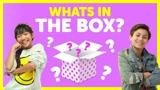 What's In The Box with Julianna & Shane from The KIDZ BOP Kids