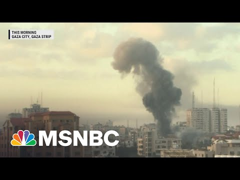 Israeli Jets Launch More Than 100 Missiles Into The Gaza Strip| MSNBC