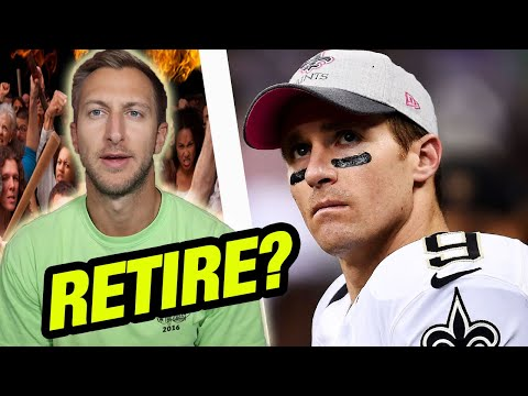 Drew Brees Career Over After Yahoo Finance Interview? – New Orleans Saints News