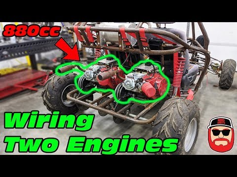 How To Wire Two Engines On One Go Kart