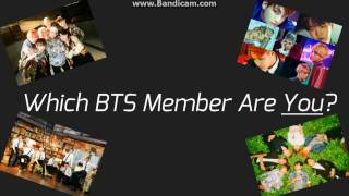 Which BTS Member Are You? Quiz!
