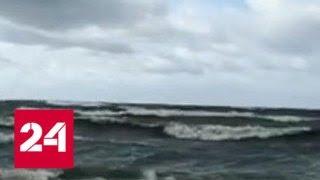 В Санкт-Петербурге и Ленинградской области продлили штормовое предупреждение - Россия 24