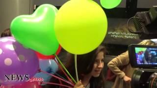Մանկական Եվրատեսիլ 2016  Մերի Վարդանյանը ժամանեց Հայաստան