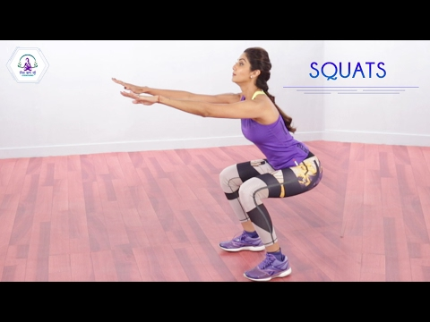 Squats | Shilpa Shetty Kundra | The Art Of Strengthening