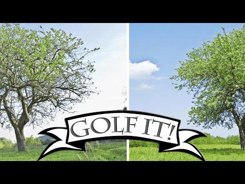 Kann ein Golfball so fliegen?    Golf It