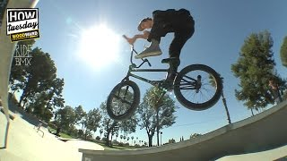 BMX: How-to - Barspin Crankflip w/ Dylan Moore