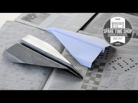 Turning a Paper Airplane into Steel? / Welding