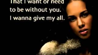 Never felt this way - Alicia Keys instrumental remake - karaoke